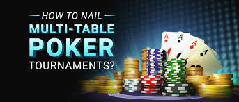 Poker Tournament Strategy - How to Play a Multi- Table Tournament